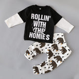 newborn little Kids boys clothes set Baby boy clothes fashion toddler baby clothing,toddler bebe set Age 0-2 year  C6275 - TheUrbanSky