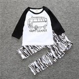 Infant Baby Clothing Sets Boy Long Sleeve T-shirt+Pant Kids Spring Autumn Outfits Set Toddler Monster Suits Baby Girls Clothes - TheUrbanSky