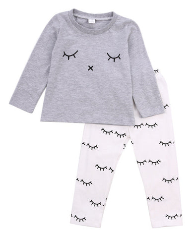 Baby Boys Girls Clothes Toddler Kids Casual T-shirt Tops+Long Pants Outfits Clothing Sets - TheUrbanSky