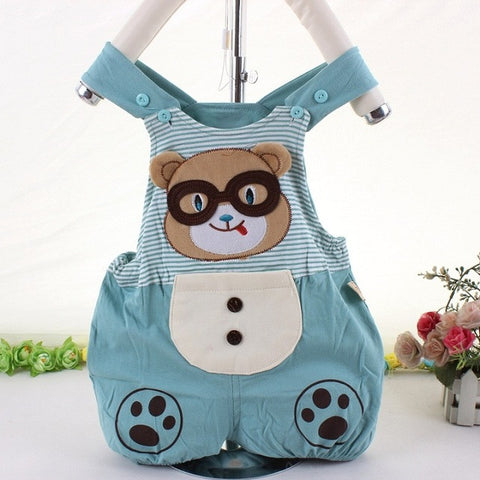 Cotton Baby Rompers Girls Boys Coveralls Sleeveless Infant Romper Cute Jumpsuit For Toddler Summer Bear Clothes Baby Clothing - TheUrbanSky