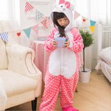 Baby Boys Girls Unicorn Panda Children pajamas set Flannel Stitch Animal Pajamas Kids Pajama sets Onesies Children Clothing - TheUrbanSky