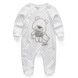 New Newborn Baby Boy Girl Romper Clothes Long Sleeve Infant Product - TheUrbanSky