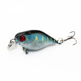 4cm 4.2g Flash Swim Fishing Lure Artificial Hard Crank Bait Wobblers japan Mini Fishing Crankbait lure Pesca - TheUrbanSky
