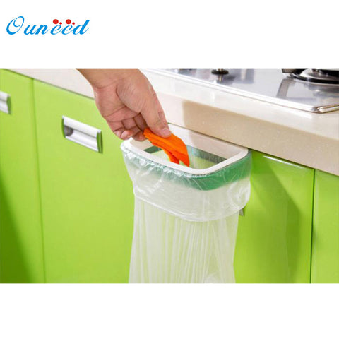 Ouneed Bag Hanging Kitchen Cupboard Door Back Style Stand Trash Garbage Bags Storage Holder Rack - TheUrbanSky