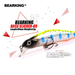Retail A+ fishing lures, assorted colors, minnow crank  80mm 8.5g,magnet system. bearking 2016 hot model crank bait - TheUrbanSky