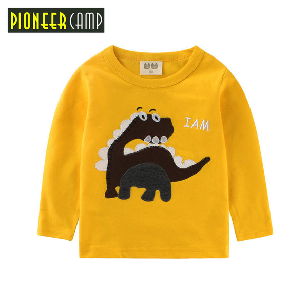 2-10Y Children T shirt Toddler Long Sleeve Tees Baby Boy&Girls Tops Clothing Shirts - TheUrbanSky