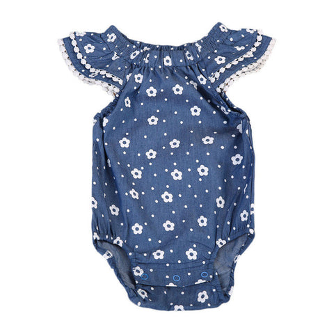Baby Girl Cotton Jumpsuit Bodysuit Short Sleeve Clothes 0-3T Summer Toddler Baby Kids Boys Girls Clothing - TheUrbanSky