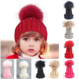 New Toddler Kids Girl Boy Baby Infant Hats Winter Warm Crochet Knit Hat Beanie Cap Baby Girls - TheUrbanSky