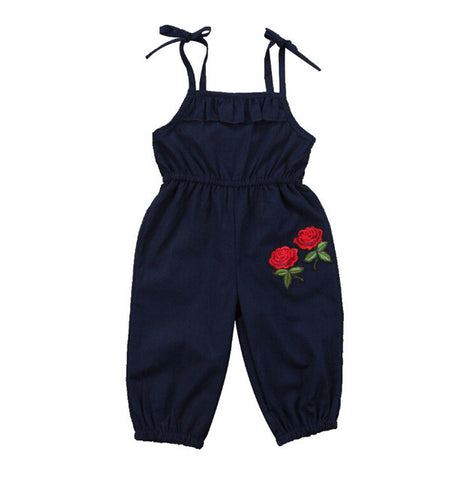 Newborn Kids Baby Girls Clothing Cotton Romper Sleeveless Summer Flower Cute Jumpsuit Outfits Girl New 1-6 T