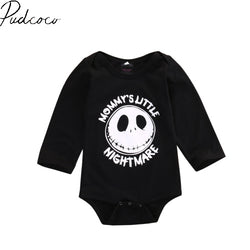Long Sleeve Pullover Newborn Infant Baby Boy Girl Romper Playsuit Outfits Clothes 3-18M