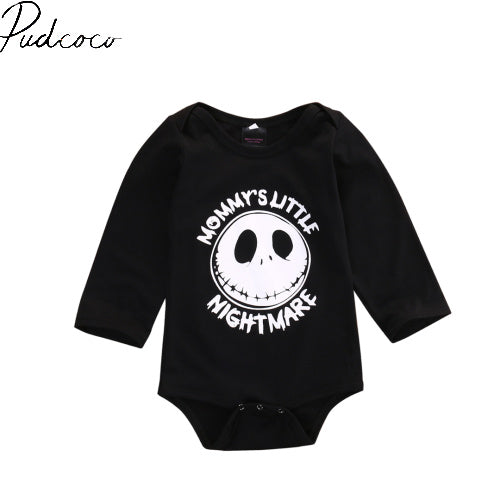 Long Sleeve Pullover Newborn Infant Baby Boy Girl Romper Playsuit Outfits Clothes 3-18M - TheUrbanSky