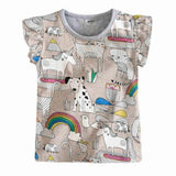 Blouse t-shirts kids summer clothes
