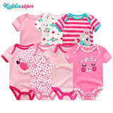 Baby Rompers Clothing 7Pcs/Lot Infant Jumpsuits