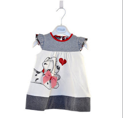 Baby Girls Toddlers A-Line Dress Girls Kids One-pieces Dress Clothe baby girls dress dog print cute clothing for girls - TheUrbanSky