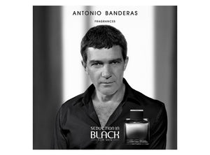 Black Seduction For Men  Antonio Banderas EDT