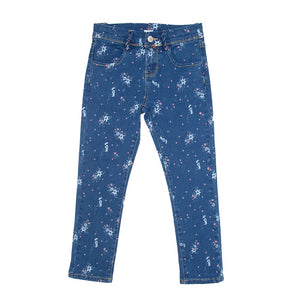 Jeans Flowers 720