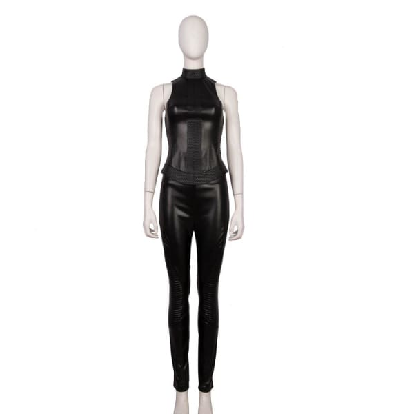 Alita Battle Angel Gunnm Pu Leather Cosplay Costume