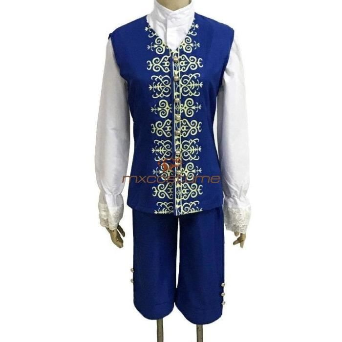 Beauty And The Beast 2017 Prince Cosplay Costume Mxcostume