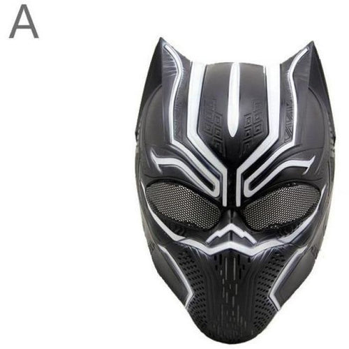 Black Panther 2018 Movie Cosplay Pvc Mask Masks