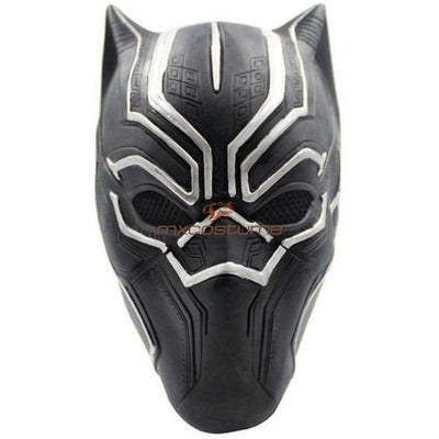 Black Panther Latex Cosplay Mask Masks