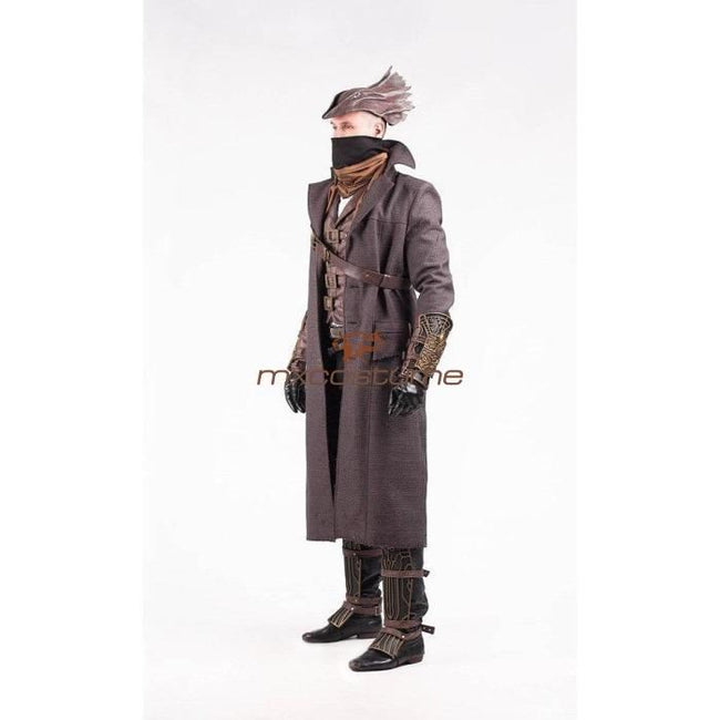 Bloodborne Video Game Hunter Full Sets Cosplay Costume Costumes