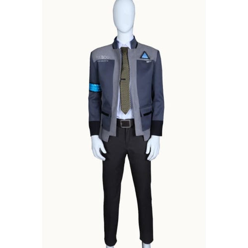 Detroit Become Human Connor Rk800 Cosplay Costume Costumes