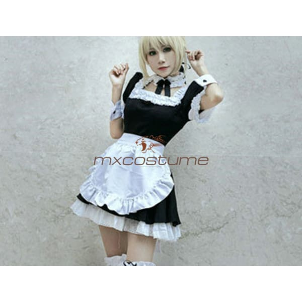 Fate Prototype Saber Cosplay Costume Costumes