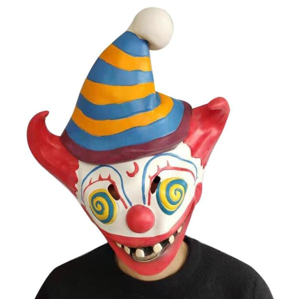 Fortnite Carnival Clown Red Nose Cosplay Mask