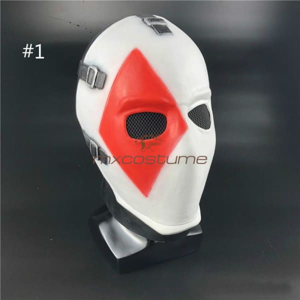 Fortnite Cosplay Poker Face Halloween Mask #1