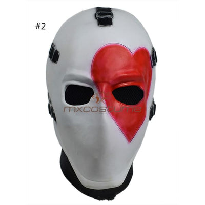Fortnite Cosplay Poker Face Halloween Mask #2