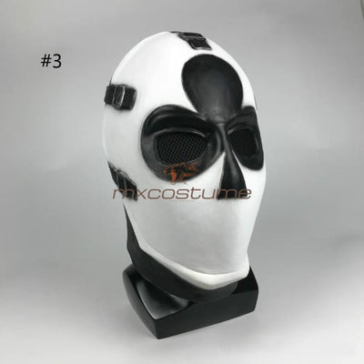 Fortnite Cosplay Poker Face Halloween Mask #3
