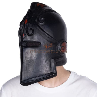 Fortnite Red Black Knight Cosplay Mask