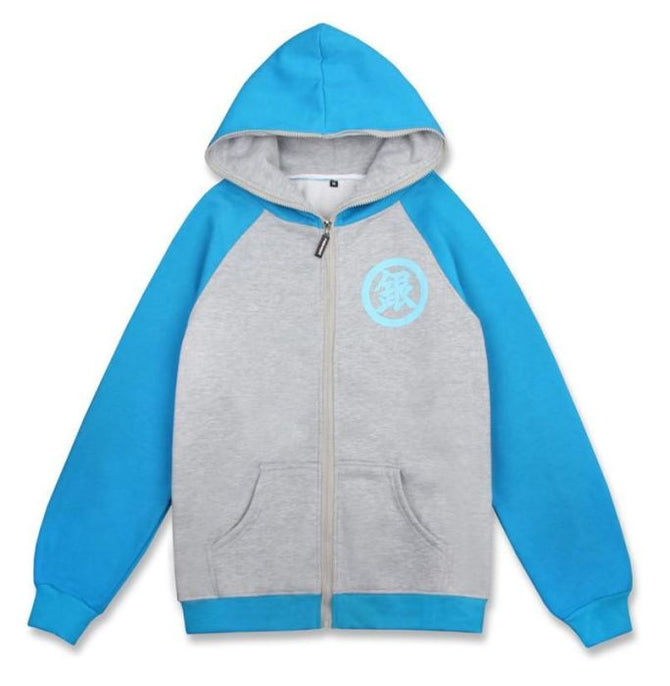Gintama Sakata Gintoki Cosplay Hoodie With Long Sleeves For Winter Hoodies