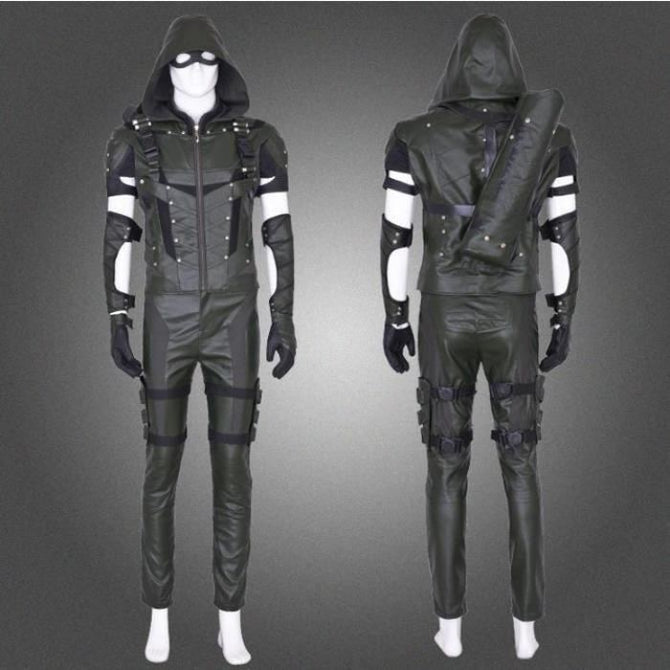 Green Arrow Season 4 Full Sets Cosplay Costume Costumes