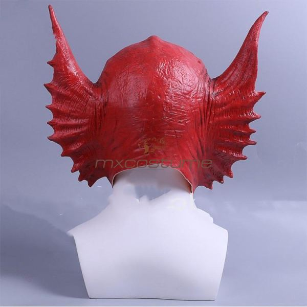 Guardians Of The Galaxy Vol.2 Snake Alien Cosplay Red Latex Mask &helmet Masks