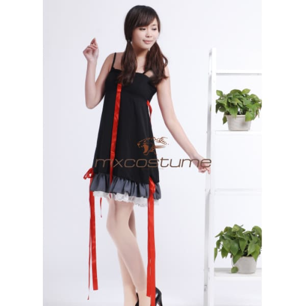 Guilty Crown Yuzuriha Inori Cosplay Black Skirt Costumes