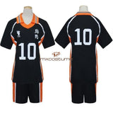 Haikyuu Karasuno High School Volleyball Club Hinata Shyouyou Sportswear Jerseys Cosplay Costume