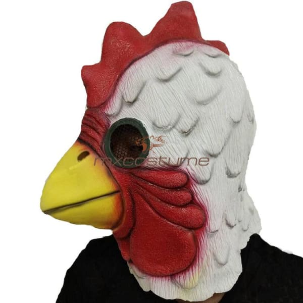 Hotline Miami Chicken Head Latex Cosplay Mask