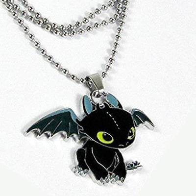 How To Train Your Dragon Cosplay Toothless Night Fury Pendant Necklace