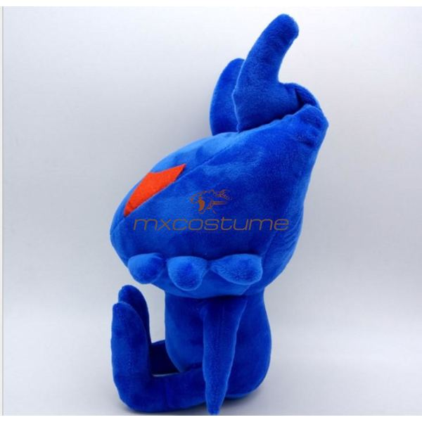 Kingdom Hearts Cosplay Blue Plush Doll With Big Ant Shape Accessories