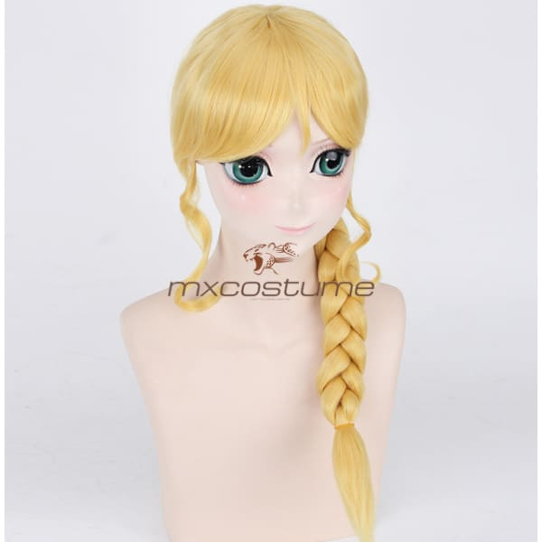 Love Live Eli Ayase Cosplay Yellow Wig