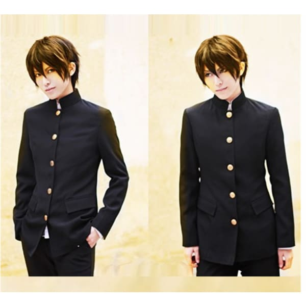 Male Students Cosplay Black Costume Costumes
