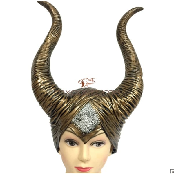 Maleficent Cosplay Latex Mask Masks