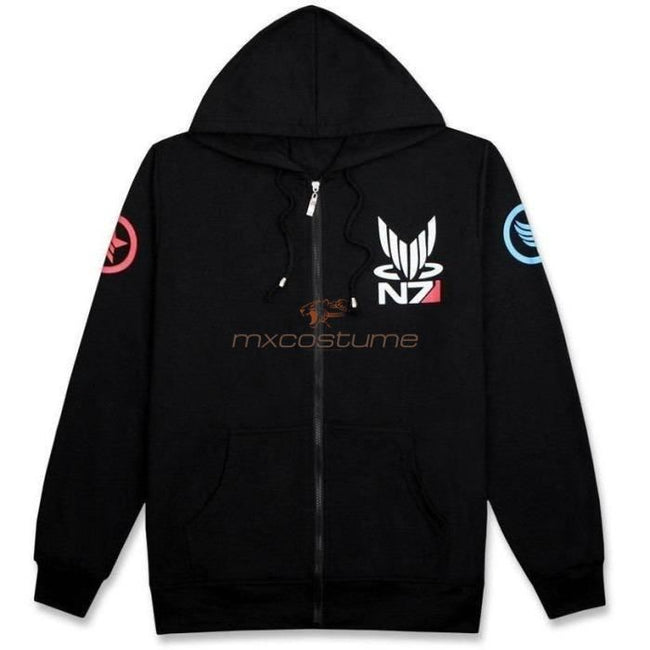 Mass Effect N7 Cosplay Hoodie New Version Hoodies