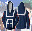 My Hero Academia Cosplay Hoodie With 3D Digital Printing Hoodies