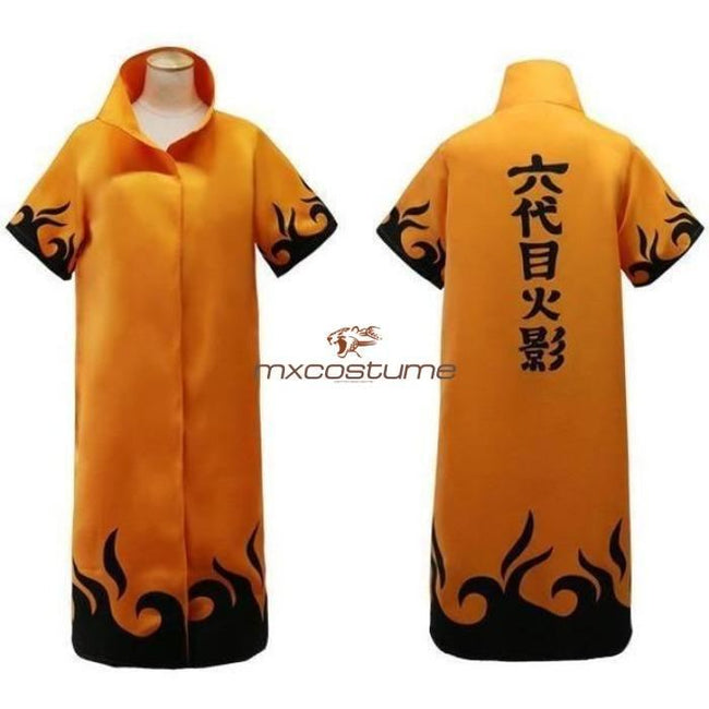 Naruto 4Th 6Th Generation Uzumaki Cosplay Cloak Costumes