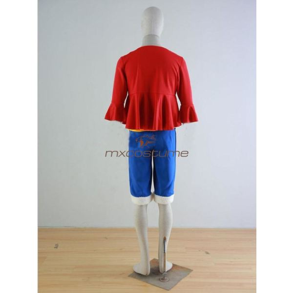 One Piece Monkey D Luffy Cosplay Costume Costumes