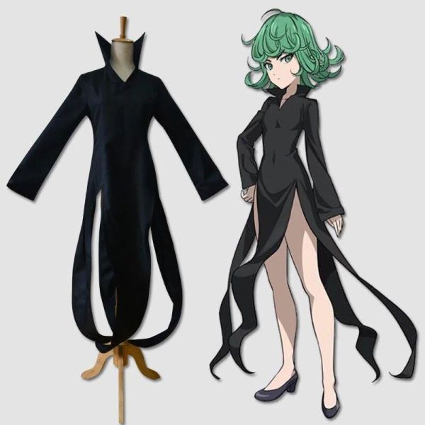 One Punch Man Tatsumaki Cosplay Costume Costumes