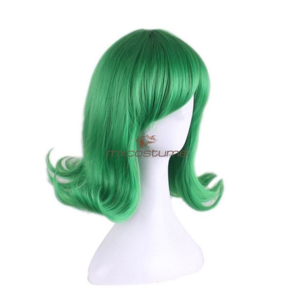One Punch Man Tatsumaki Cosplay Green Wig Accessories