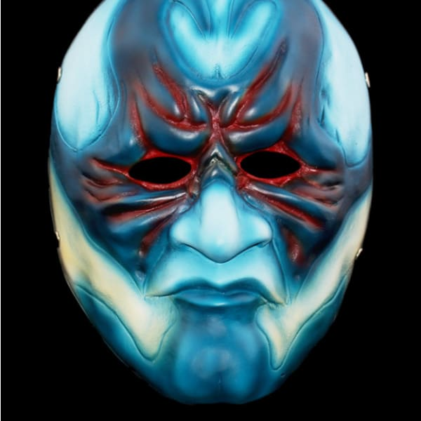Payday 2 Cosplay Blue Resin Mask Masks